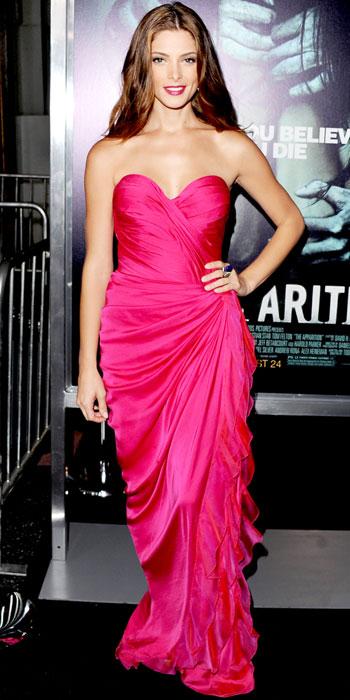 Ashley Greene in Donna Karan Atelier